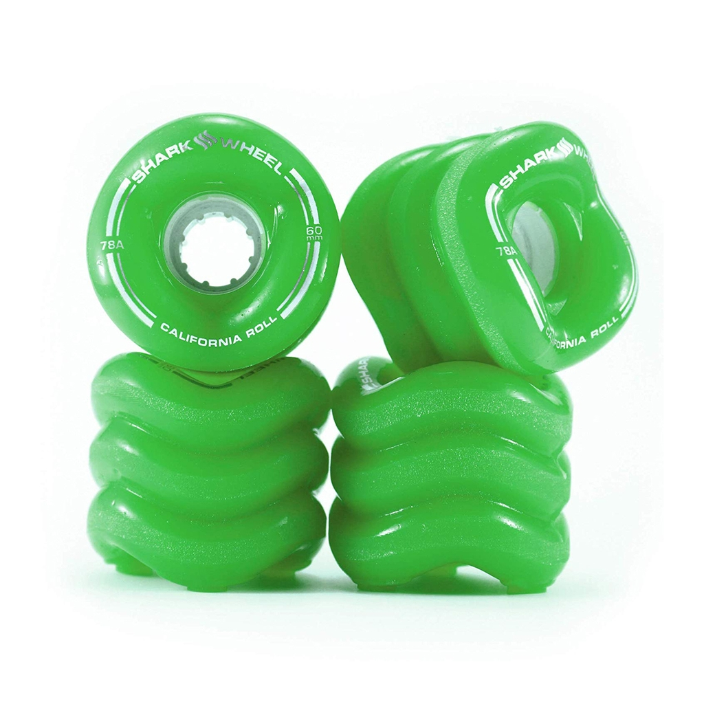 SHARK WHEEL CALIFORNIA ROLL 78A GREEN WHEELS 60MM