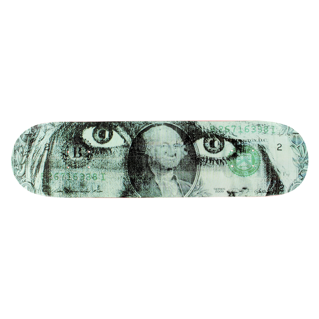 SKATE MENTAL PLUNKET DADS MONEY DECK 8.25