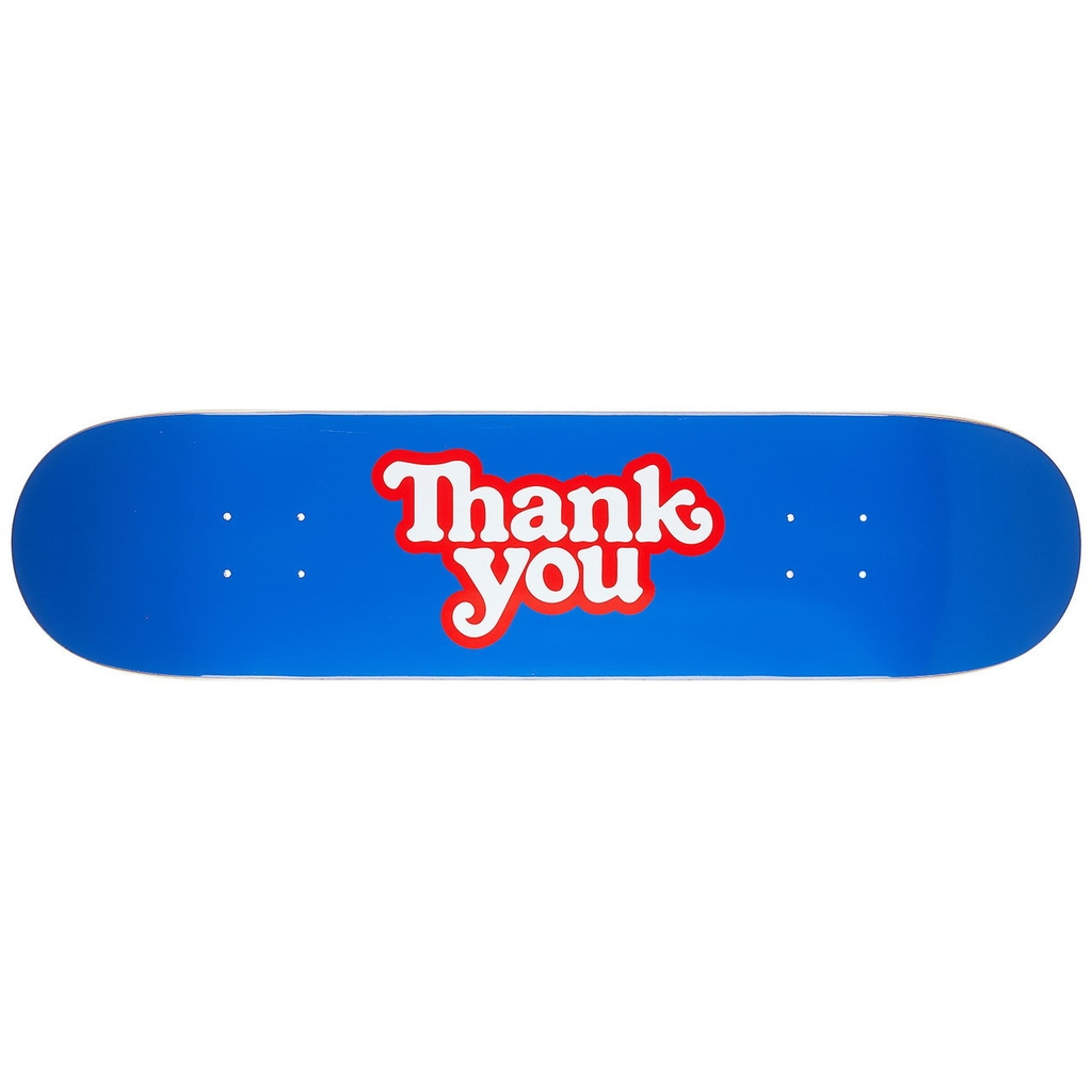 THANK YOU LOGO DECK - 8.0 BLUEE
