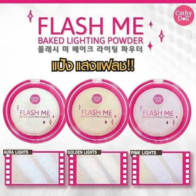 CATHY DOLL - Phấn Bắt Sáng Flash Me Baked Lighting Powder