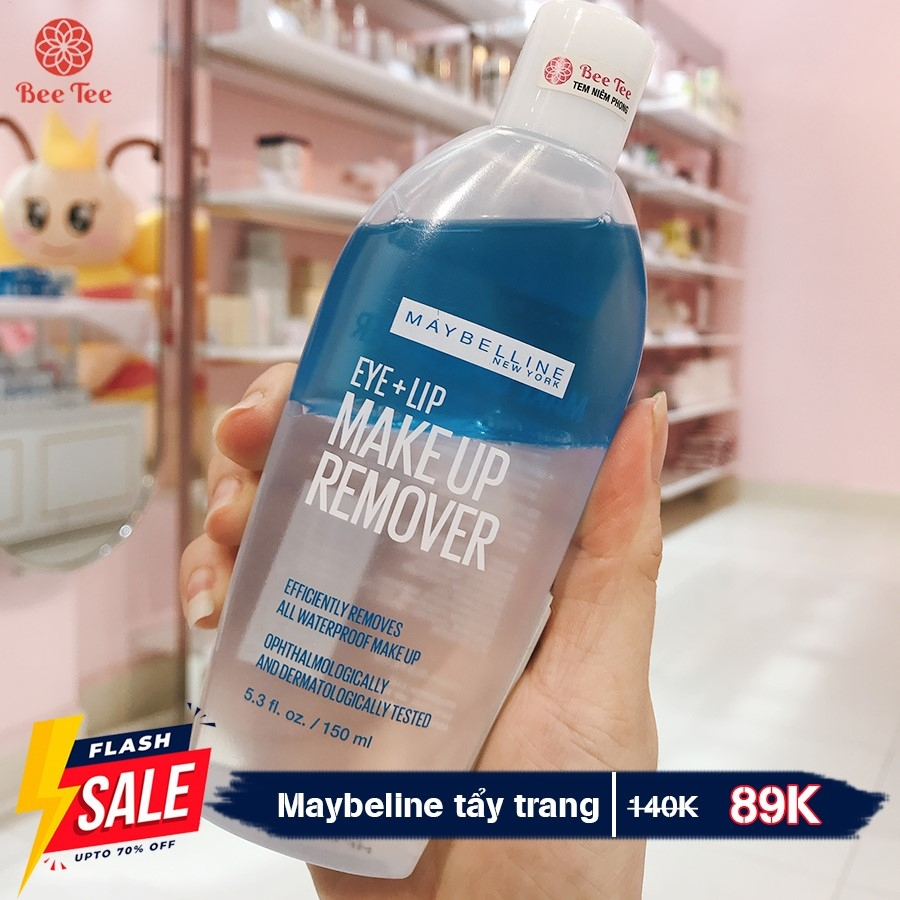 MAYBELLINE - Tẩy Trang Make Up Remover Eye & Lip 150ml