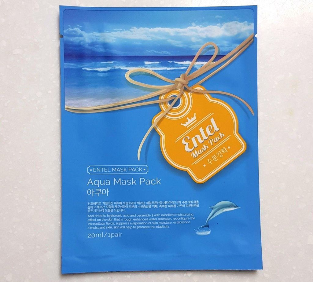 ENTEL - Aqua Mask Pack