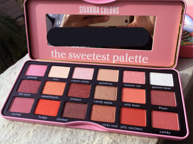 SIVANNA COLORS - Bảng Màu Mắt The Sweetest Palette