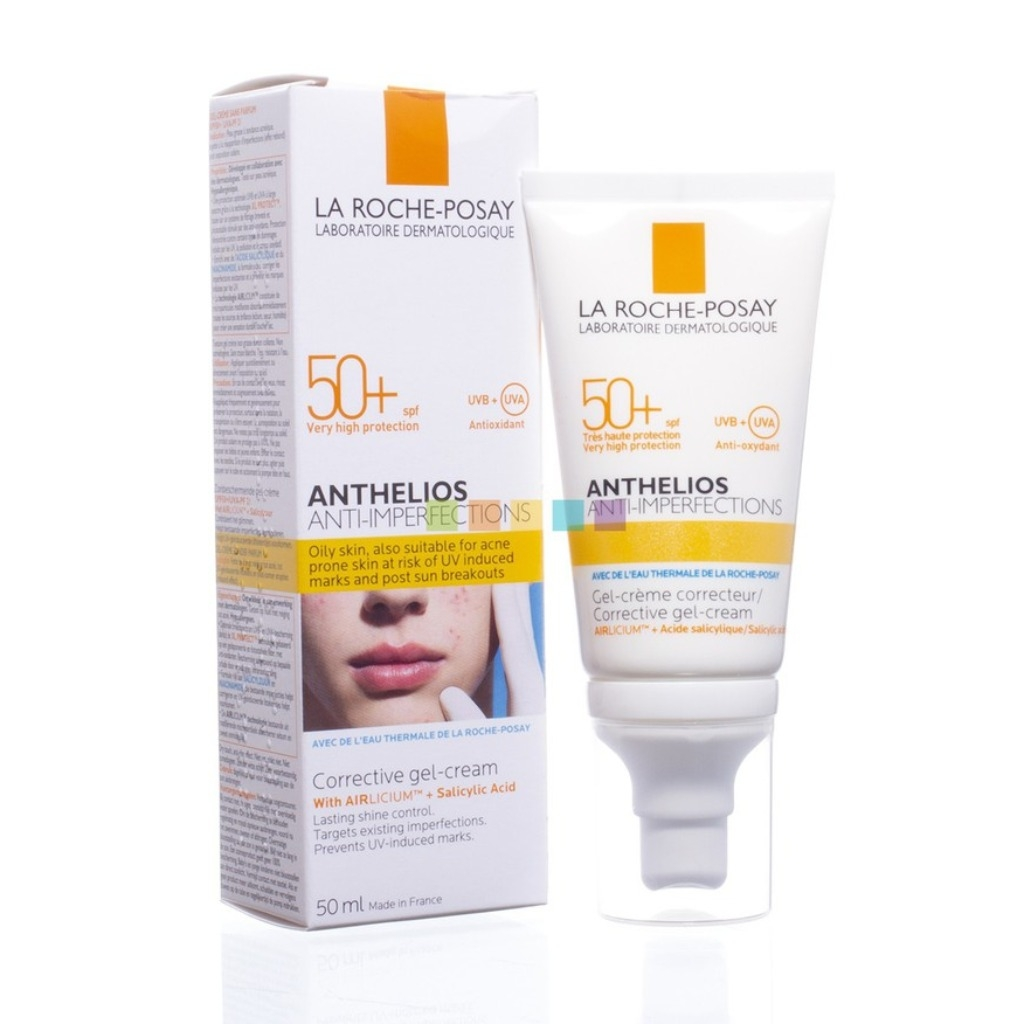 LA ROCHE-POSAY - Kem Chống Nắng Cho Da Mụn Anthelios Anti-Imperfections SPF50+