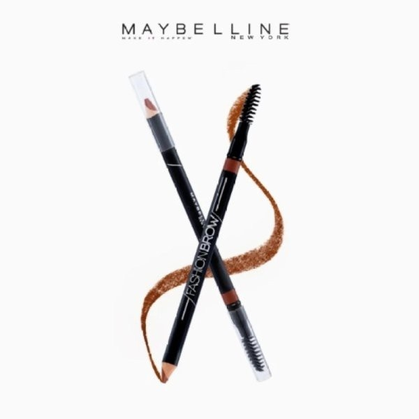 MAYBELLINE - Chì Kẻ Mày 2in1 Fashion Brow Cream Brush