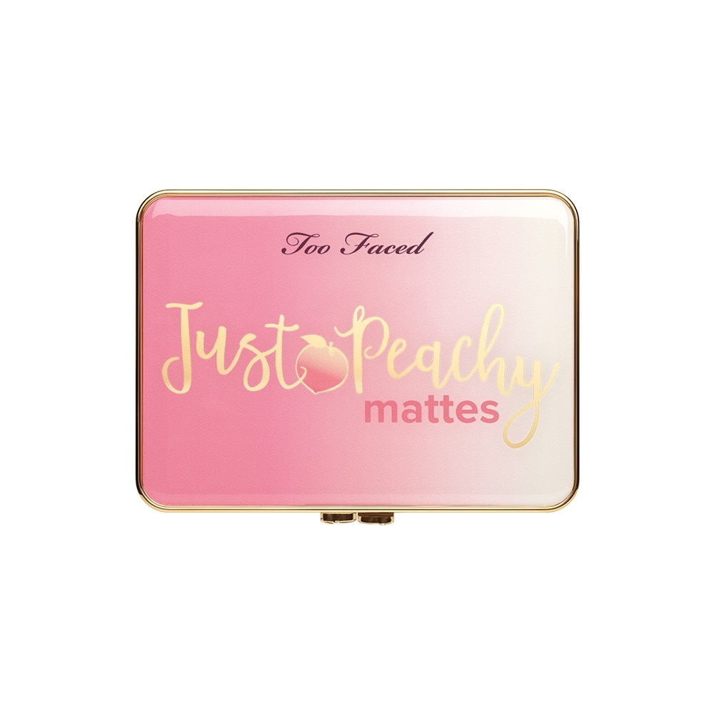 TOO FACED - Bảng phấn mắt Just Peachy Mattes Velvet Eye Shadow Palette