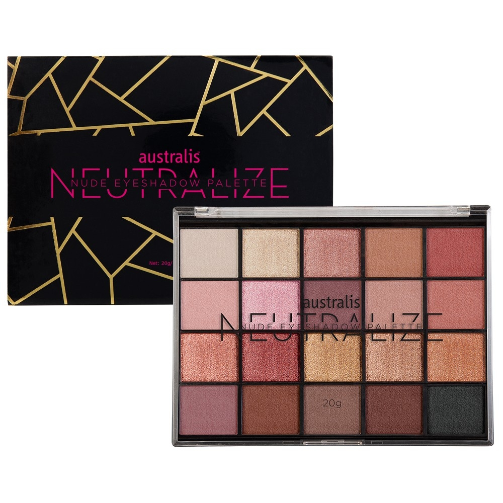 AUSTRALIS - Phấn Mắt Neutralize Nude Eyeshadow Palette