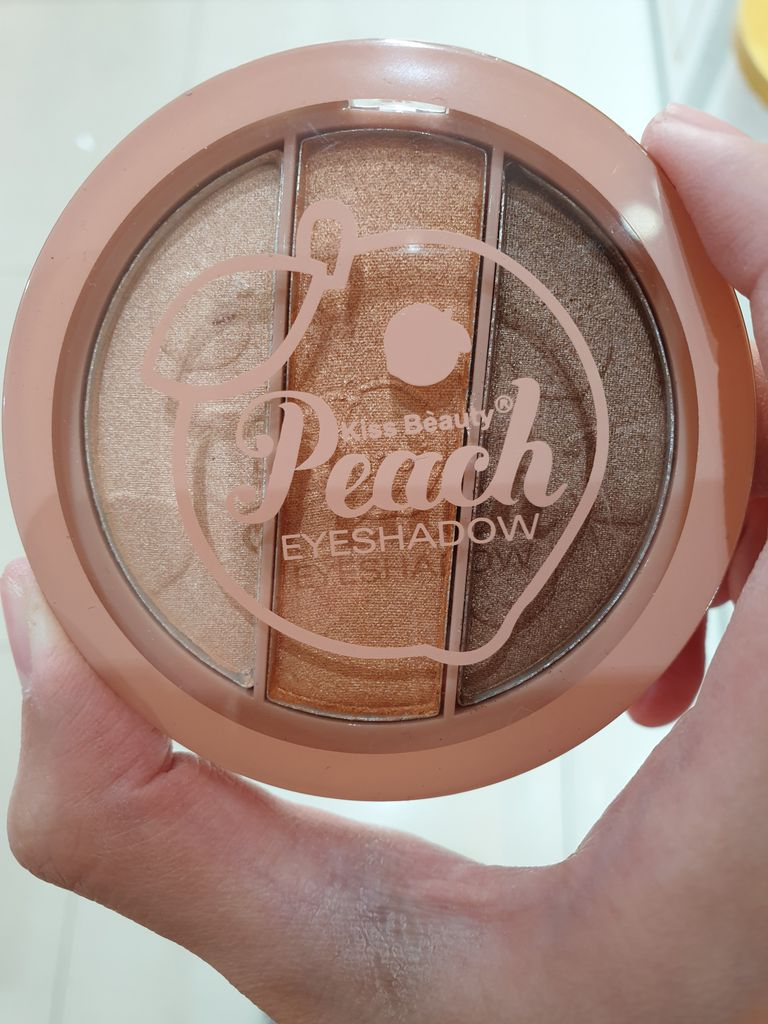 KISS BEAUTY - Phấn Mắt Peach Eyeshadow