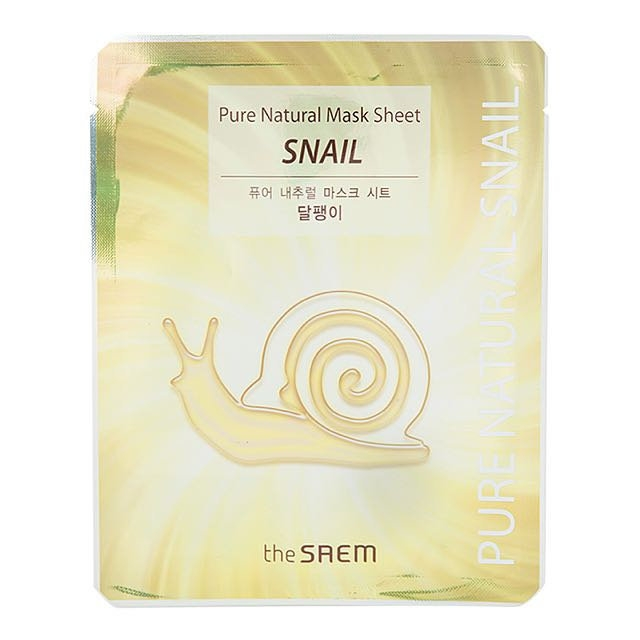 THE SAEM - Mặt Nạ Ốc Sên Pure Natural Mask Sheet Snail