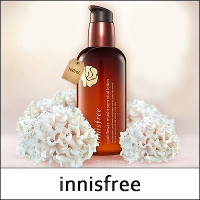 INNISFREE - Sữa Dưỡng Cauliflower Mushroom Vital Lotion