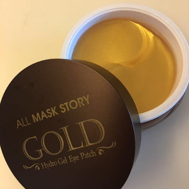 ALL MASK STORY- Mặt Nạ Mắt Gold Hydrogel Eye Patch