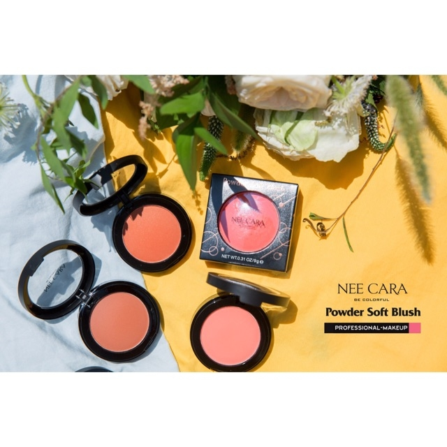 NEE CARA - Phấn má Be Colorful Powder Soft Blush