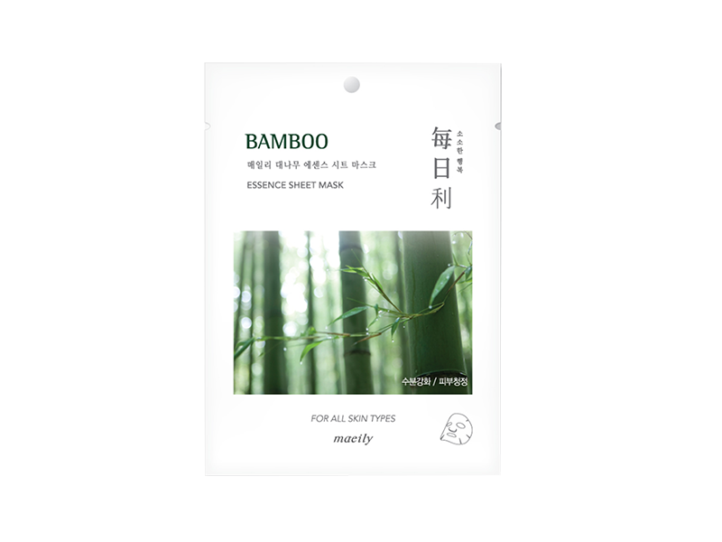 MAEILY - Mặt Nạ Tre Non Tinh Khiết Bamboo Essence Sheet Mask