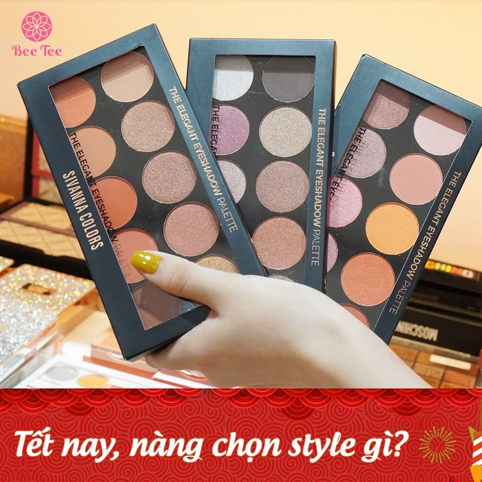 SIVANNA COLORS - Phấn mắt The Elegant Eyeshadow Palette
