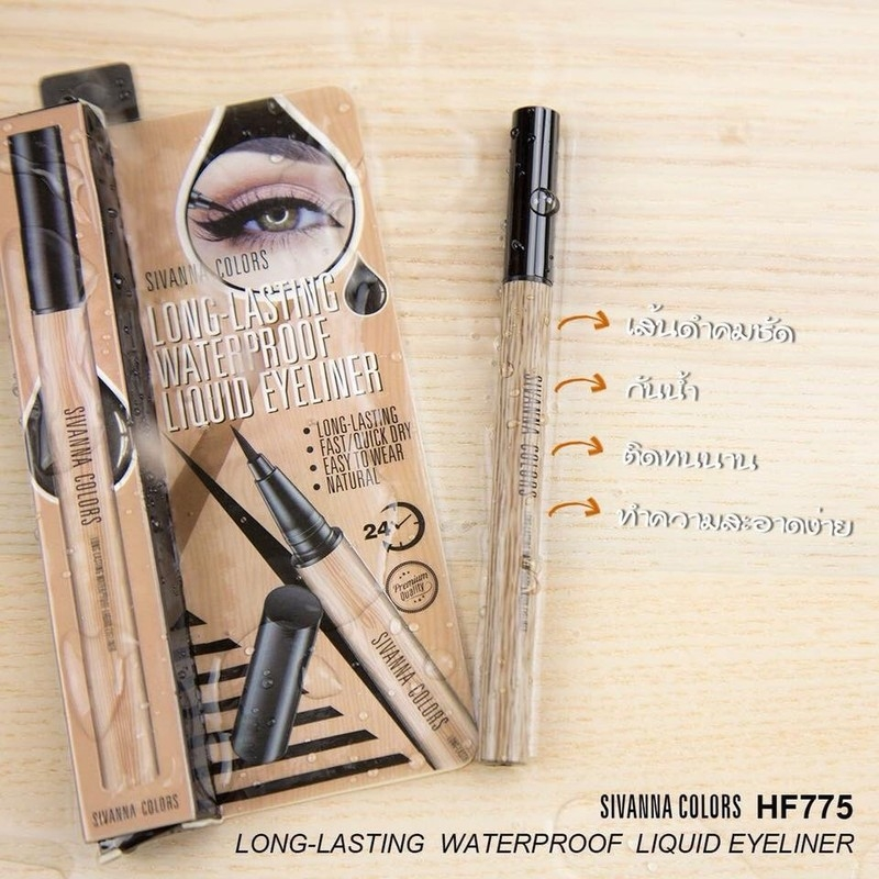 SIVANNA COLORS - Kẻ Mắt Long Lasting WaterProof Liquid Eyeliner