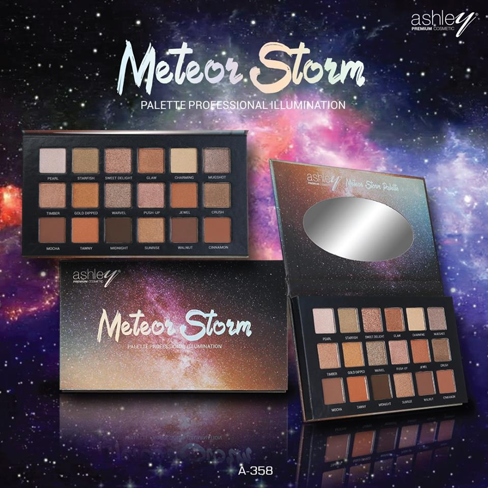 ASHLEY - Bảng Phấn Mắt Meteor Storm Eyeshadow Palette