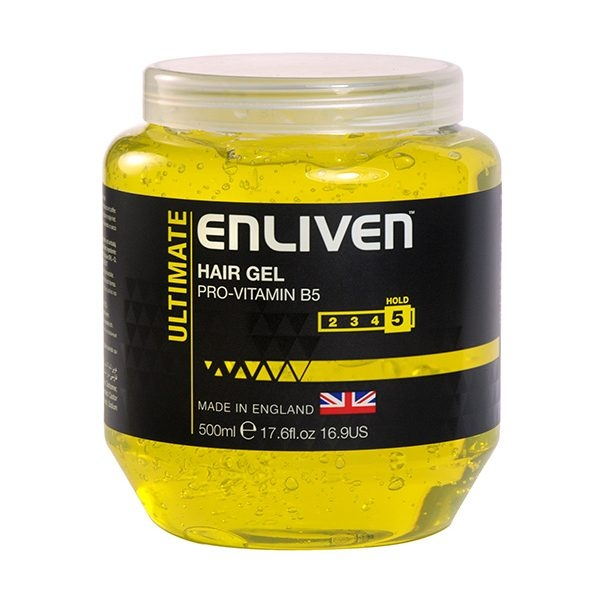 ENLIVEN - Gel Tạo Kiểu Tóc Mens Hair Gel Pot Ultimate Hold 250ml