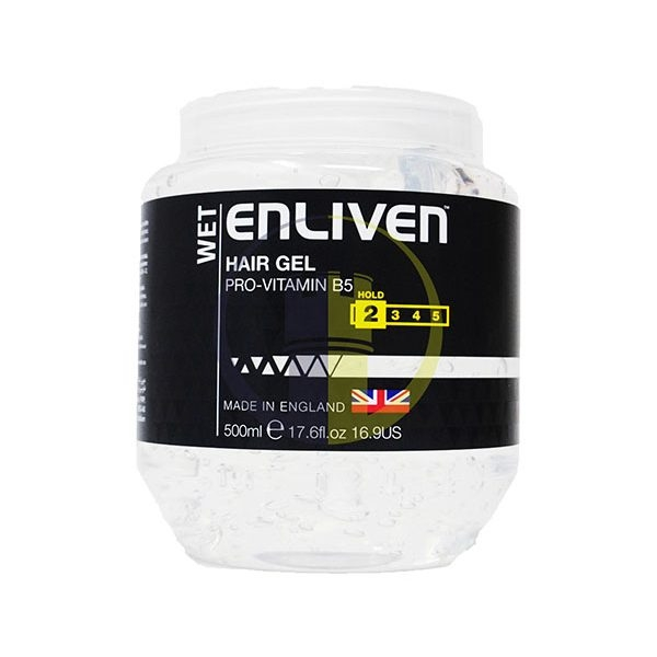 ENLIVEN - Gel Tạo Kiểu Tóc Mens Hair Gel Pot Wet Hold 250ml