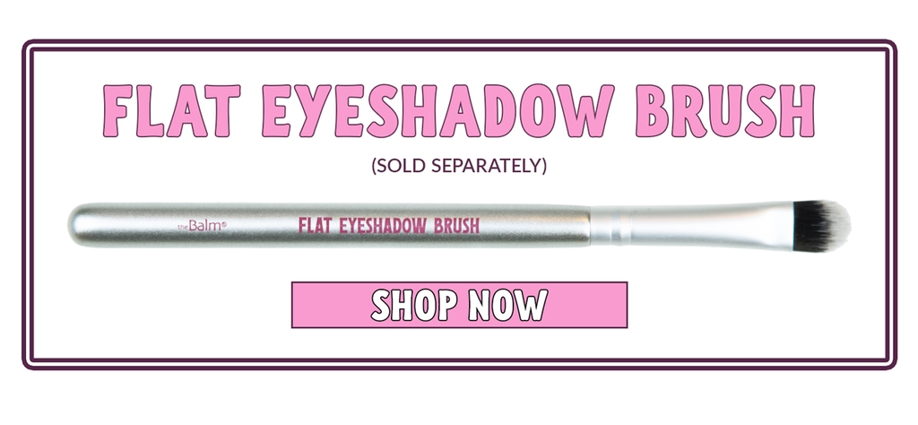 THE BALM  - Cọ mắt Flat Eyeshadow Brush
