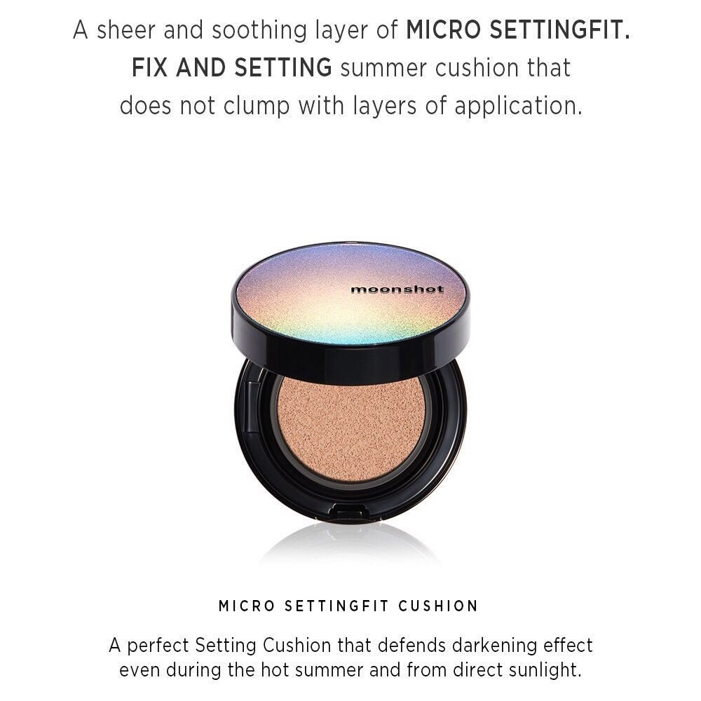 MOONSHOT - Micro Setting Fit Cushion SPF50+, PA+++