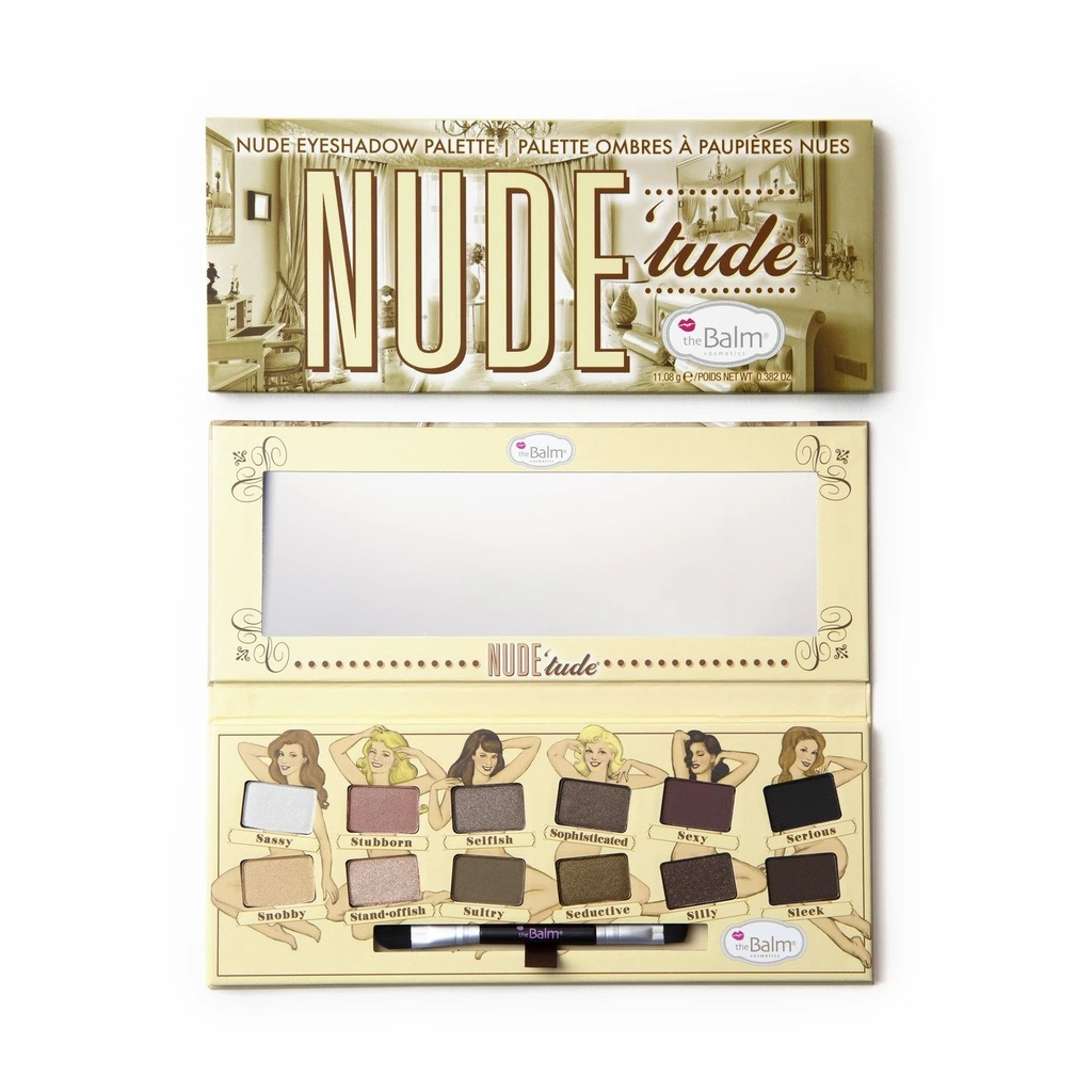 THE BALM  - Bảng màu mắt Nude'tude eyeshadow palette
