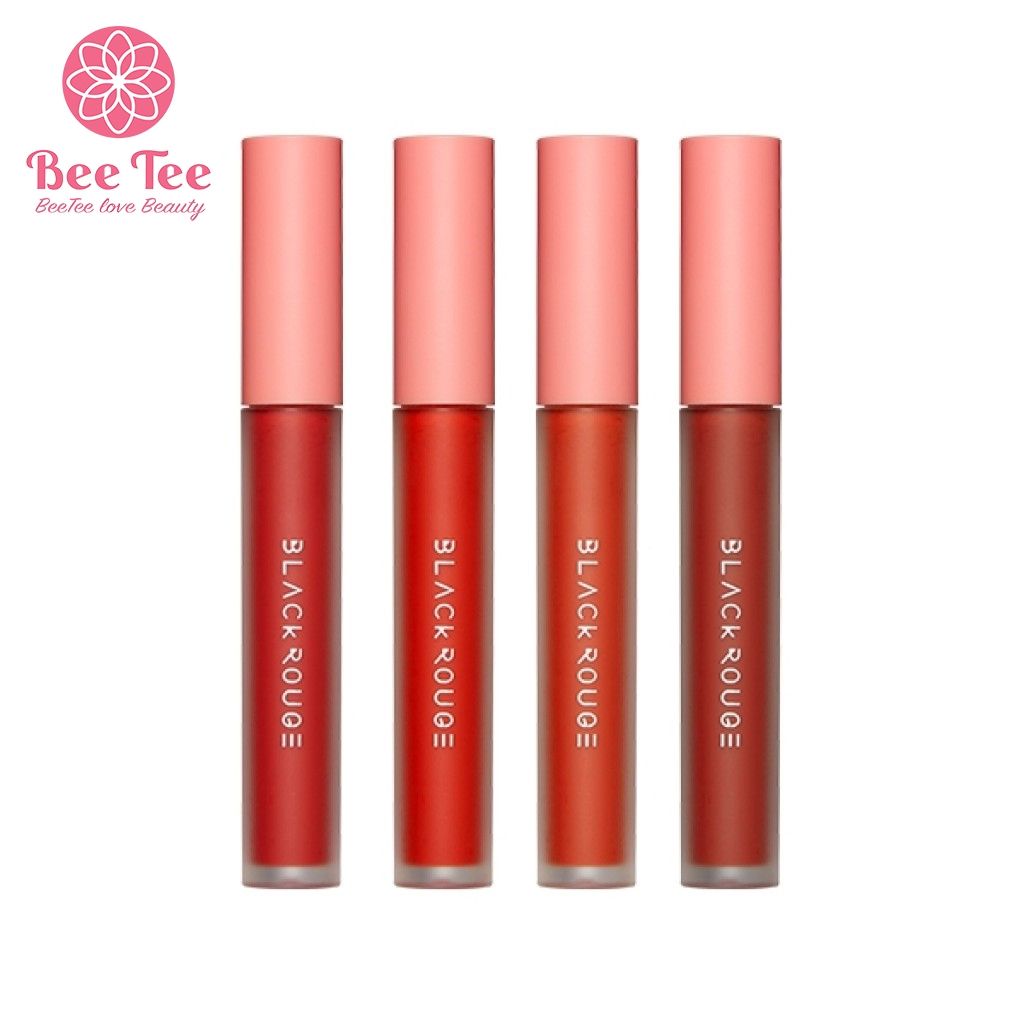 [MUA 1 TẶNG 1] BLACK ROUGE - Son Kem Lì All Day Power Proof Matte Tint