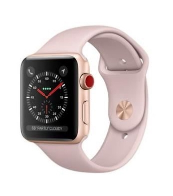 Apple Watch 42mm LTE Aluminium Rose Gold