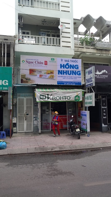 FINDING A GOOD PHARMACY IN HO CHI MINH CITY, VIETNAM