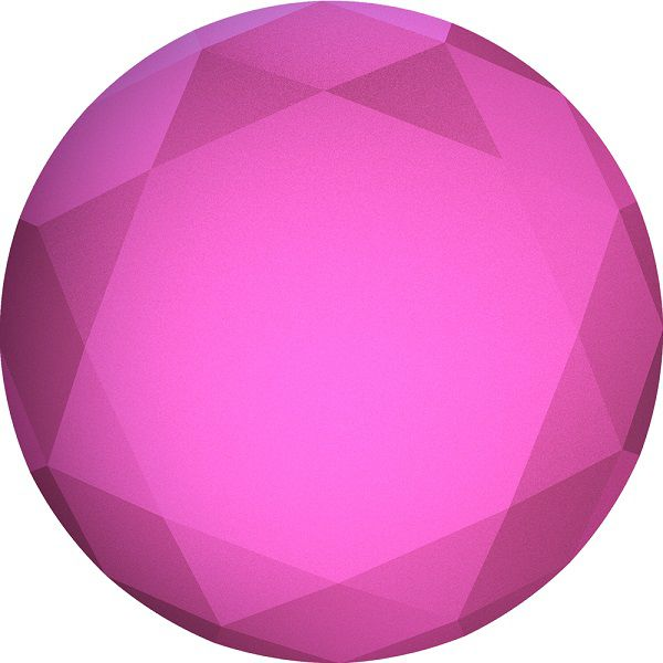 PopSockets FUCHSIA METALLIC DIAMOND