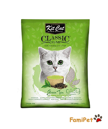 KitCat - Cát Vón Cục Green Tea 10l