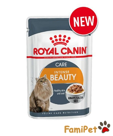 Pate Cho Mèo Royal Canin Intense Beauty Gravy