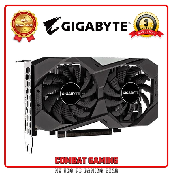 VGA GIGABYTE GTX 1650 OC 4GB GDDR6 WINDFORCE