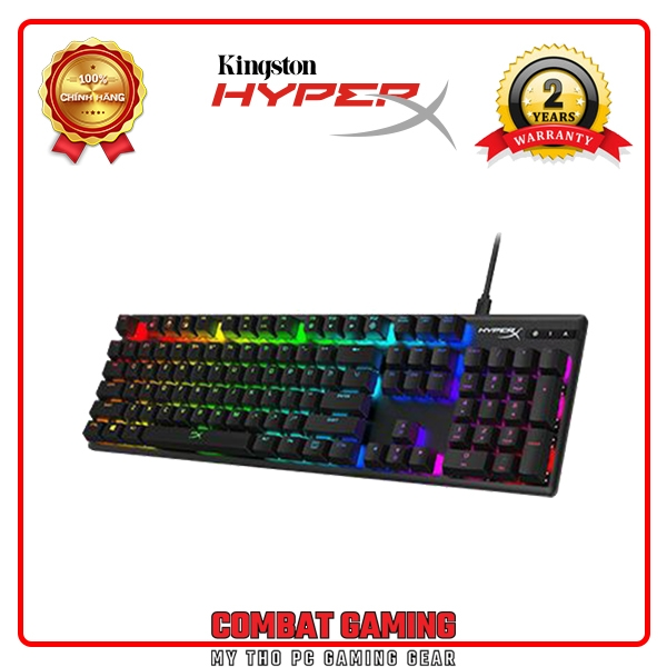 Bàn Phím KINGSTON HYPERX ALLOY ORIGINS - HYPERX RED SWITCH