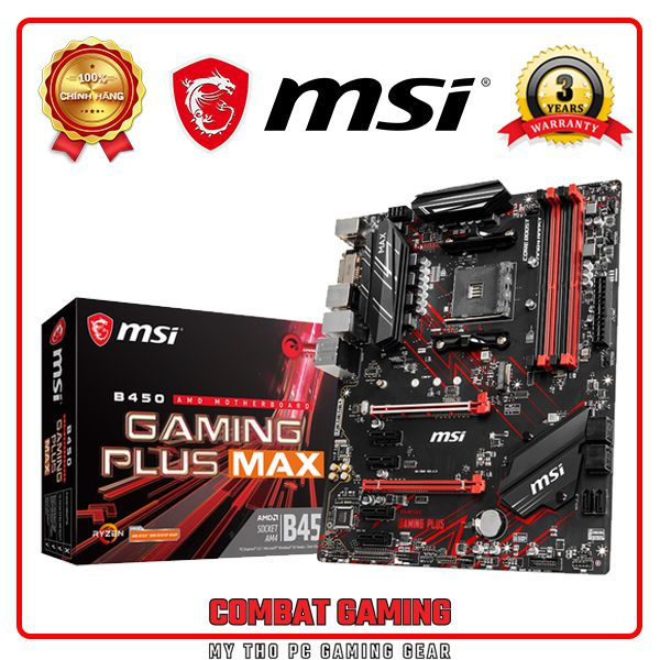 MAINBOARD MSI B450 GAMING PLUS MAX