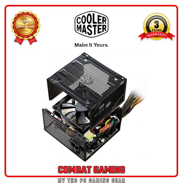 Nguồn COOLER MASTER ELITE V4 600W - 80 PLUS WHITE