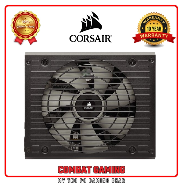 Nguồn CORSAIR HX850 PLATINUM 80 PLUS PLATINUM - Full Modul