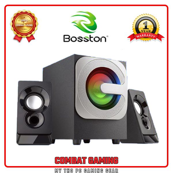 Loa Vi Tính Bluetooth BOSSTON T3600-BT Led RGB