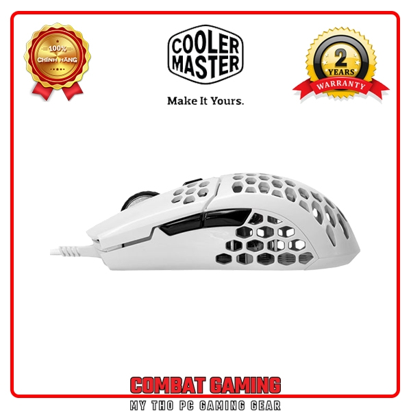 Chuột COOLER MASTER MM710 WHITE GLOSSY