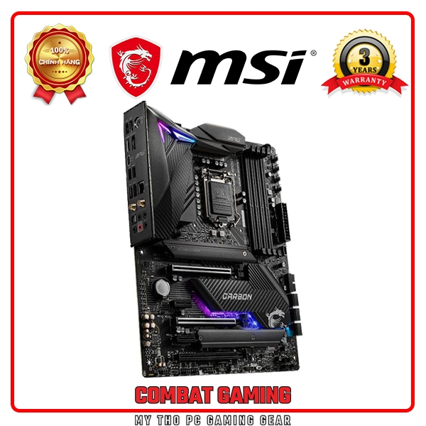 MAINBOARD MSI MPG Z490 GAMING CARBON WIFI
