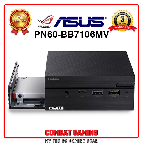 Mini PC ASUS PN60-BB7106MV (Barebone/ Intel Core I7-8550U)