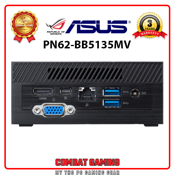 Mini PC ASUS PN62 BB5135MV (Barebone/ Intel Core I5-10210U)