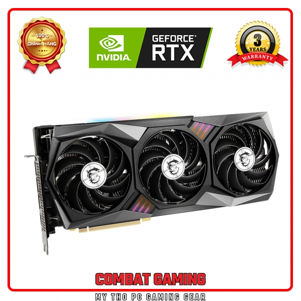 VGA MSI RTX 3070 GAMING X TRIO 8G (8GB GDD6, 256-bit, HDMI +DP, 2x8-pin)