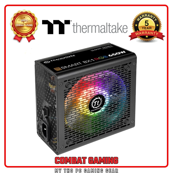Nguồn THERMALTAKE SMART BX1 RGB 650W 80 PLUS BRONZE