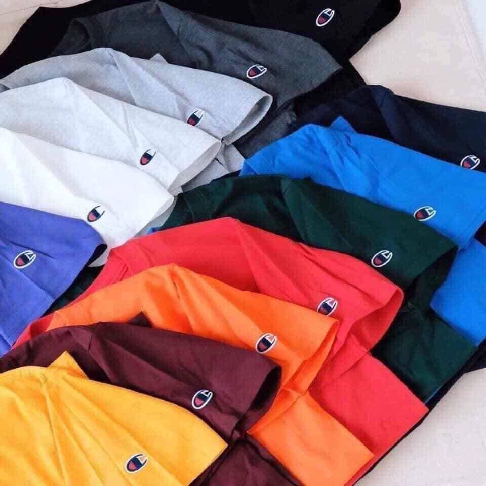 Champion Basic Tee with hand logo