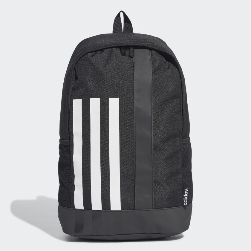 Balo Adidas Chính Hãng - 3-STRIPES LINEAR - Black/White | JapanSport - GE1234