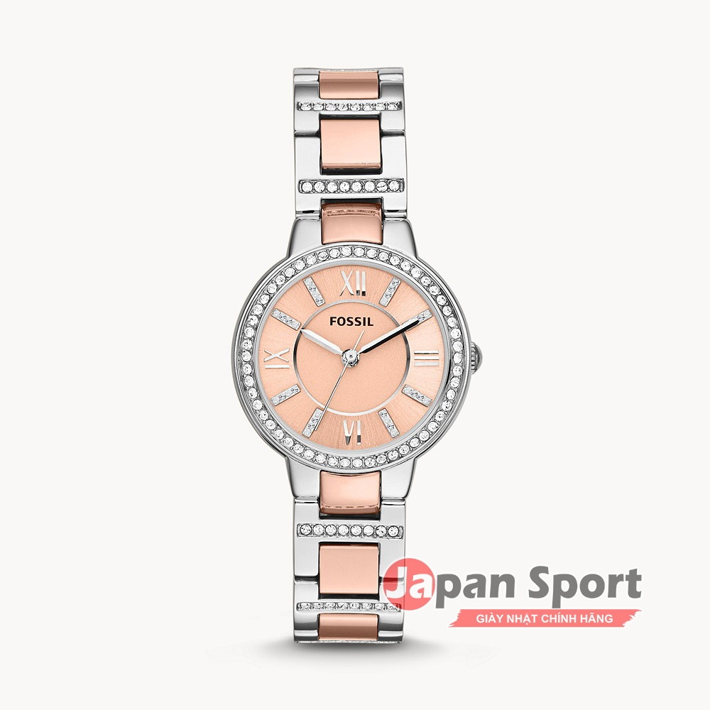 ĐỒNG HỒ FOSSIL VIRGINIA ROSE DIAL ES3405 QUAZT WOMEN