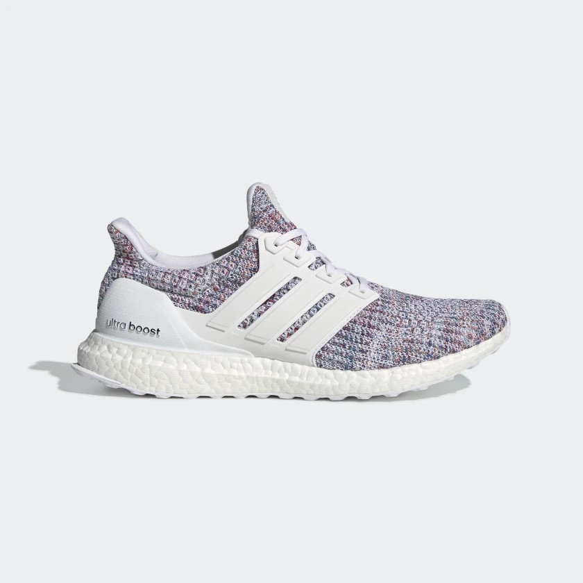 Adidas Chính Hãng - Ultraboost - White/Multi-Colour | JapanSport - DB3198