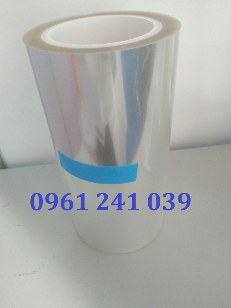 Màng bảo vệ PET phủ silicon (Silicone PET protective film)