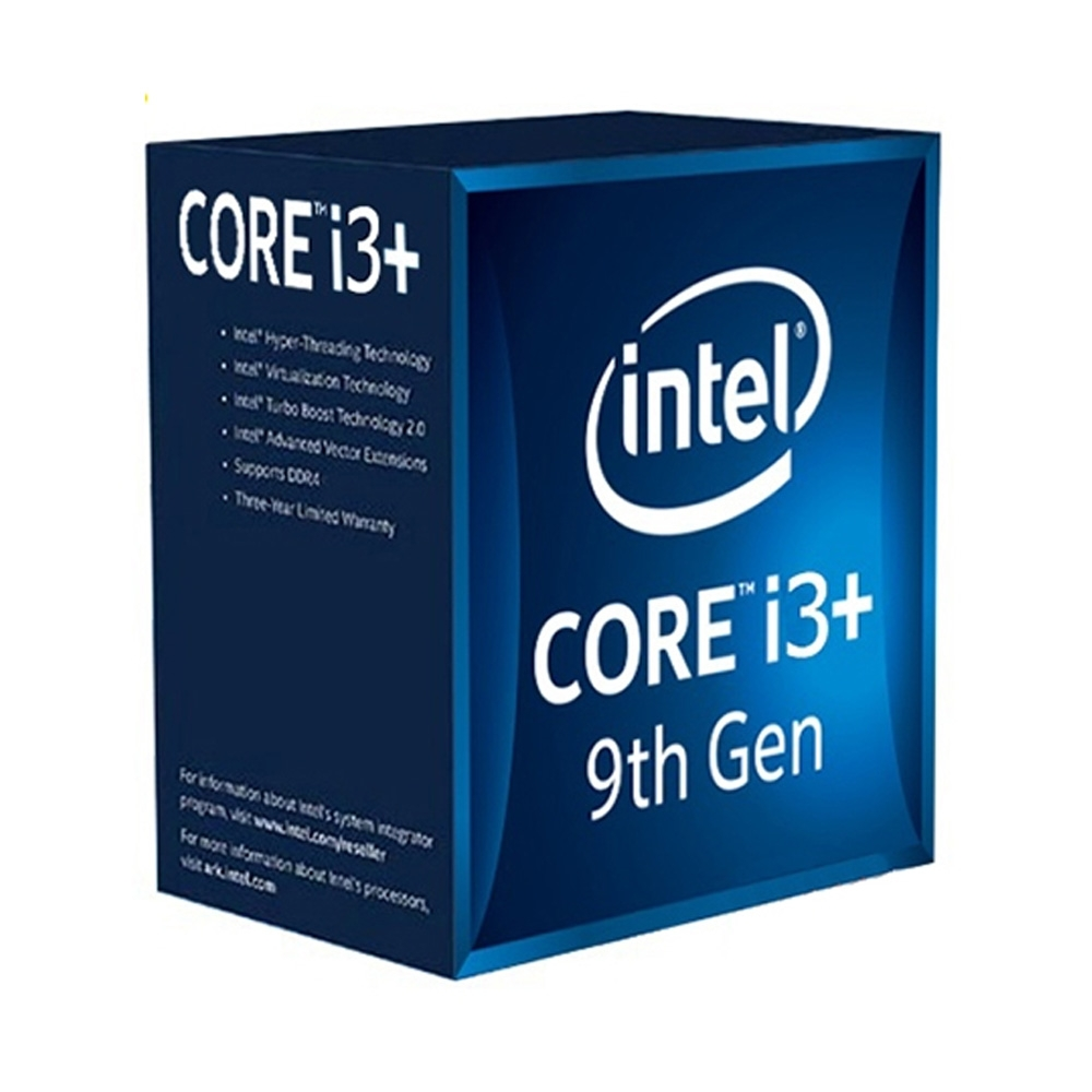 CPU Intel Core i3 9100 3.6 GHz /4 Cores 4 Threads / 6MB / Socket 1151 / Coffee lake