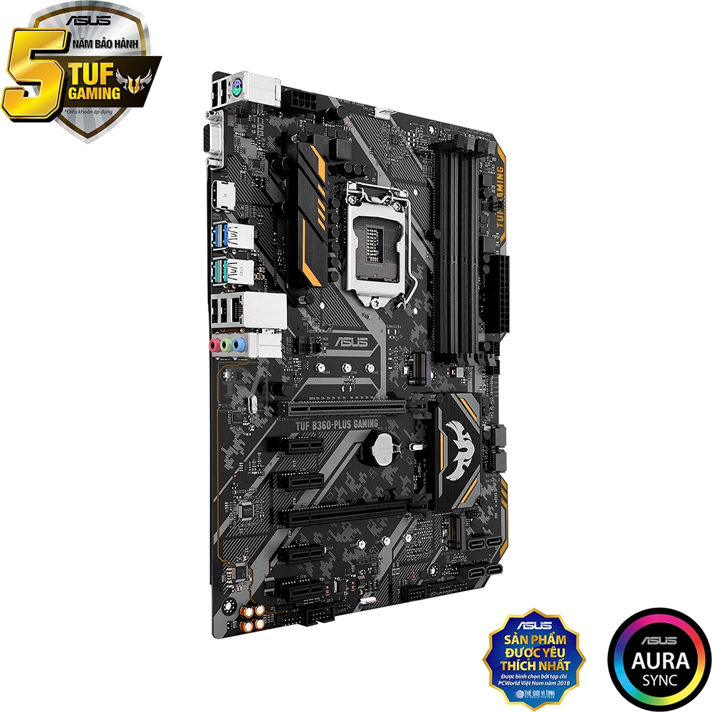 Mainboard ASUS TUF B360 PLUS GAMING